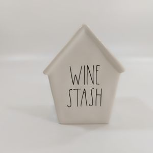 Rae Dunn Accents - Rae Dunn Wine Stash Birdhouse Piggy Bank